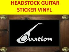OVATION WHITE STICKER GUITAR PRODUCT ON SALE UNTIL END OF STOCK