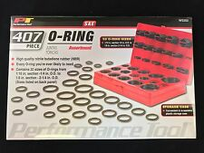 Performance Tool O-Ring Kit 407-Piece SAE 32 Assorted Sizes Red Plastic Case Kit