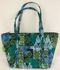 Vera Bradley Extra Large Miller Travel Bag Tote Carry on Caribbean Sea New NWT