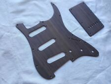 Stratocaster Pickguard in PALISSANDRO with back cover