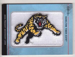 2015 Upper Deck CFL Hamilton Tiger Cats Team Logo Patch OPC 2005- Secondary