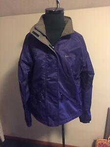 Vintage Nike Rain Jacket Size 4-6 C Purple