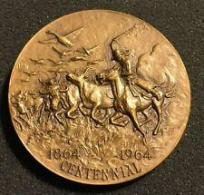 Montana Territory Centennial Medallion - Bronze