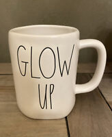 Rae Dunn By Magenta - LL GLOW UP - LL WHITE Ceramic Coffee Mug