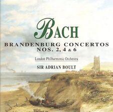 Bach - Brandenburg Concertos Nos. 2, 4 & 6 CD - Sir Adrian Boult, LPO (Disky)