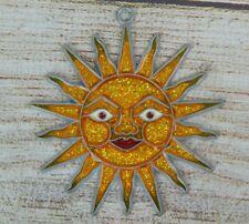 Vintage Suncatcher Smiling Sun Sunshine Window Decoration Ornament
