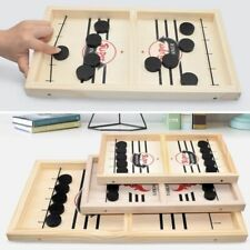 Foosball Table Wooden Winner Hockey Catapult Chess Interactive Puck Board Game