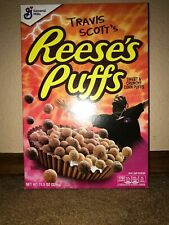 Limited Travis Scott X Reeses Puffs Cereal - Limited Edition