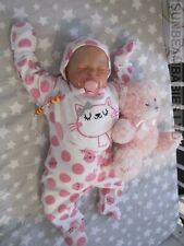 "REAL REBORN DOLL 20"" BOUNTIFUL BABY GIRL ROSE BY DAN AT SUNBEAMBABIES GHSP 5LBS"