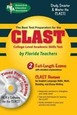 CLAST with CD-ROM (REA) The Best Test Prep for the College-Level-ExLibrary