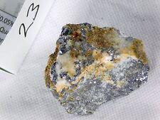 23) Silver Bearing Galena Metallic Lead Ore Crystal Mineral Cornwall UK