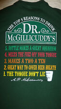 DR. MCGILLICUDDY'S TOP 5 REASONS TO DRINK T-SHIRT SIZE (L) GREEN