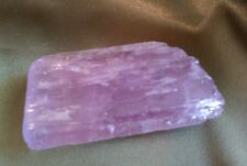Violet Pink Kunzite Crystal -Pronounced Spiritual Energy of Love and Light