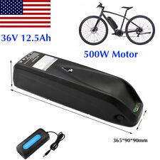 36V 12.5Ah 500W HaiLong Li-Ion Battery Pack for E-Bike Electric Bicycle