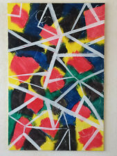 "Your Dutch Abstract Art : "" Tangle "" 115cm x 75cm"