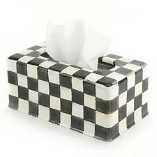 MacKenzie-Childs Courtly Check Standard Tissue Box Cover