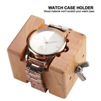 Wooden Watch Back Case Cover Opener Remover Holder Watchmaker Repair Tool
