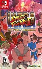 Ultra Street Fighter II: The Final Challengers (Nintendo Switch, 2017)