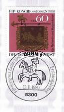 BRD 1980: FIP-Congresso mangiare n. 1065 con Bonner solo tag-timbro speciale! 1a! 154