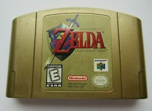 ✅ Zelda Ocarina of Time Gold Collectors Edition Authentic Nintendo 64 N64 Rare