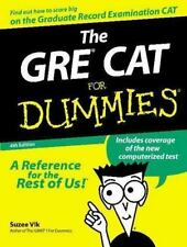 The GRE? CAT For Dummies? Vlk, Suzee Paperback
