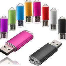 32GB 16GB USB 2.0 Flash Drive Flash Memory Stick Metal Storage Pen Thumb LOT
