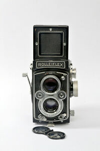 Rolleiflex 3.5 Tessar MX-EVS Type 2, w/ RARE 120/220 conversion & Rolleikin