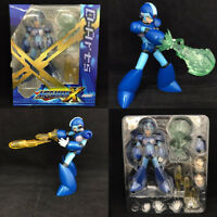 New S.H.Figuart Rockman MegaMan X SHF Action Figure Box Set Blue VER Boxed