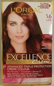 LOreal Excellence Creme 5.6 Rich Auburn Permanent Hair Colour