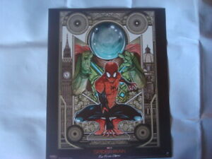 SPIDERMAN Poster Far From Home Official Odeon Movie Glossy almost  A4 size