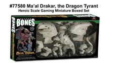 Reaper Bones 77580 Ma'al Drakar the Dragon Tyrant Free Shipping