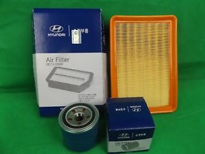 GENUINE HYUNDAI ELANTRA XD SERIES 2.0L PETROL FILTER PACK(OIL FILTER+AIR FILTER)