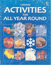 Activities for All Year Round Usborne HC Illust Free Ship