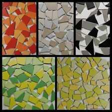 200g Glasmosaik Bruchmosaik Glas Mosaik Steine Fliesenbruch Bastelmosaik braun