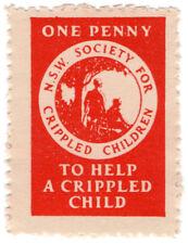 (I.B) Australia NSW Cinderella : Help a Crippled Child 1d