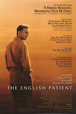 THE ENGLISH PATIENT (1996) ORIGINAL REVIEW MOVIE POSTER  -  ROLLED
