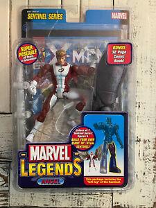 Marvel Legends Angel Red Costume Action Figure Toy Biz Sentinel Series
