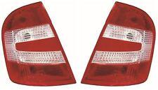 Skoda Fabia 2004-2007 Hatchback Rear Tail Light Lamp Pair Left & Right