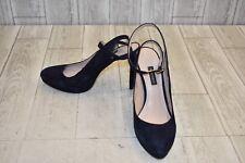 Nine West Quianiya Heels - Women's Size 9M, Dark Navy