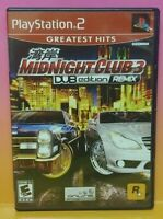 Midnight Club 3 DUB Remix PS2 Playstation 2 COMPLETE Game 1 Owner Near Mint Disc