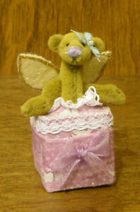 """DEB CANHAM Artist Designs AN ANGEL FOR YOU, Gift Coll. 2.5""""  LE From Retail Shop"""
