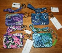NWT Vera Bradley LANYARD & CAMPUS DOUBLE ID CASE wallet badge holder card case