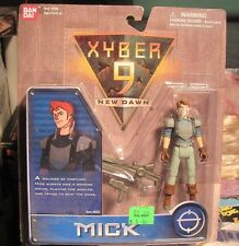 Xyber 9 Mick Figure Mint on Card1999