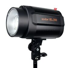 Pro Godox Mini Pioneer 200W 200Ws Studio Strobe Flash Light Lamp Head for weding