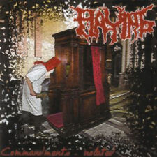 Flaying - Commandments - Violated CD (Epidemie, 2006)  *Czech Death Metal