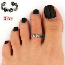 Toe Ring Adjustable Foot Beach Jewelry New Women Celebrity Fashion Retro Simple