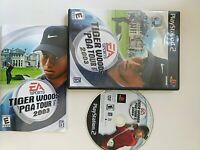 Tiger Woods PGA Tour 2004 Sony PlayStation 2 PS2 Complete With Instructions