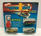 vintage 1984 Hot Wheels ULTRA HOTS Stamper Set with Speed Seeker Sol-Aire CX4