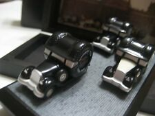 Schuco Piccolo Fulda Promotional Set '35 w/ 3 Vehicles (Germany) Black/White NIB