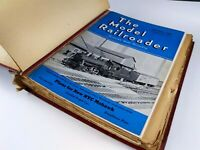 Model Railroader Magazines 1941 Lot 12 Issues Complete Year Kalmbach Publishing